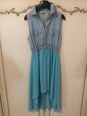 High Low Dress light blue