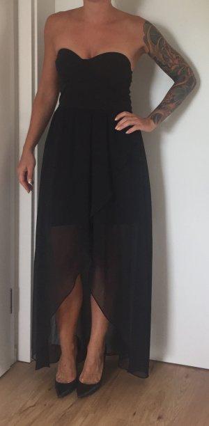 Vokuhila Kleid, Bandeau aus USA von Review, M, schwarz
