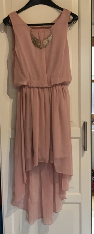 Oh my love High Low Dress light pink-pink