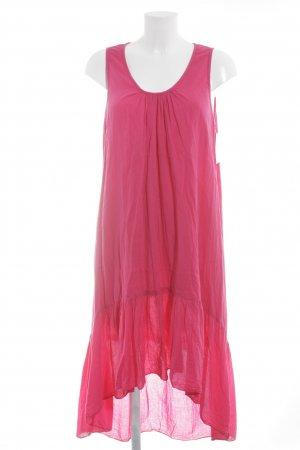 Vokuhila-Kleid magenta Beach-Look