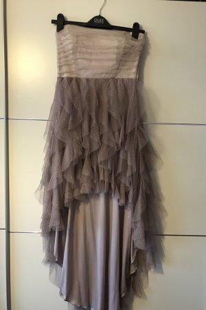 Vokuhila-Kleid mit Glitzer