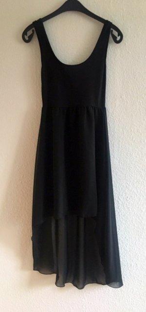 Vokuhila Kleid schwarz