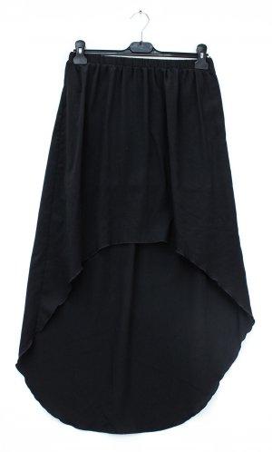 Sisley Asymmetry Skirt black polyester