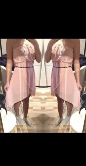 High Low Dress pink