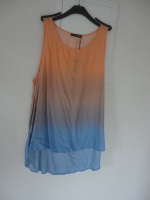 Atmosphere A Line Top multicolored rayon