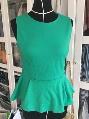Forever 21 Flounce Top forest green