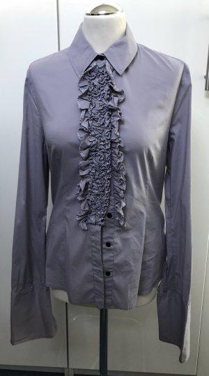 by Malene Birger Ruffled Blouse purple