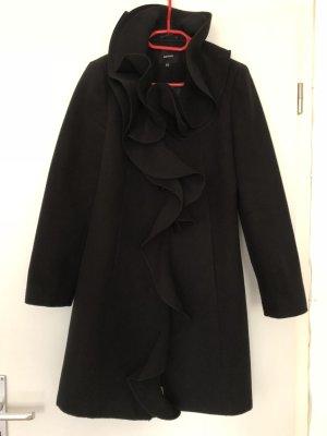 Volant Mantel, Koton, Neuwertig, schwarz, Größe 40