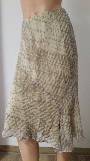 Wrap Silk Skirt multicolored