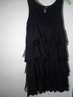 H&M Flounce Top black