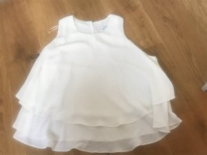 Mango Mouwloze blouse wit