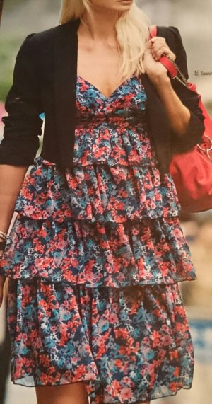 3 Suisses Flounce Dress multicolored