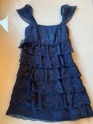 3 Suisses Volante jurk zwart-donkerblauw