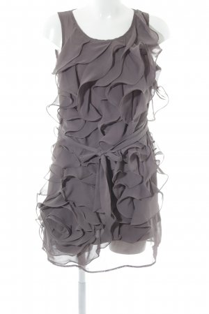Flounce Dress grey lilac party style