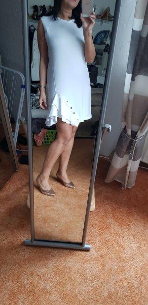 Volantkleid mit Druckknöpfen Gr L  Zara
