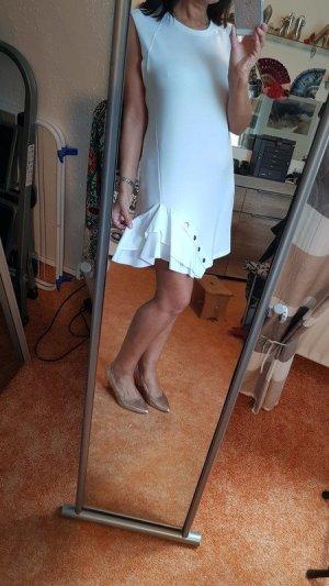Volantkleid mit Druckknöpfen Gr S Zara von privat