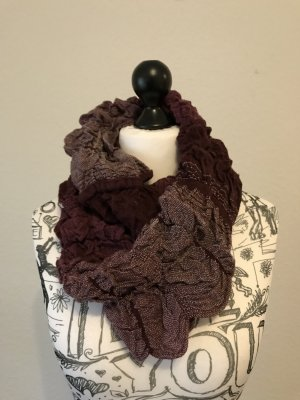 Esprit Tube Scarf purple-white