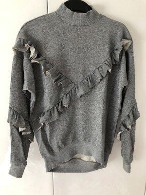 Volantsweatshirt Topshop Gr. 36
