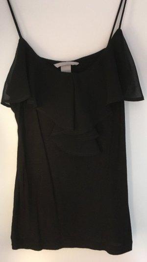 Volanttop schwarz H&M