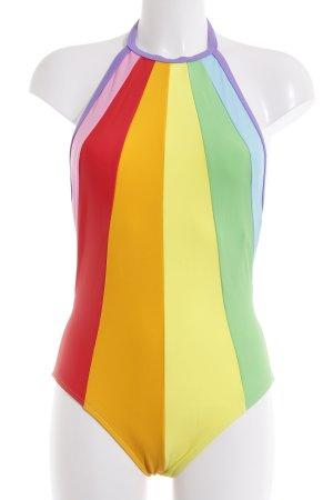 Volcom Traje de baño estampado arco iris estilo deportivo