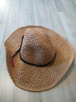 Volcom Chapeau de paille taupe
