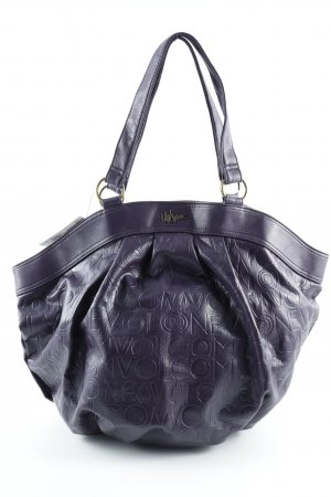 Volcom Carry Bag brown violet placed print casual look