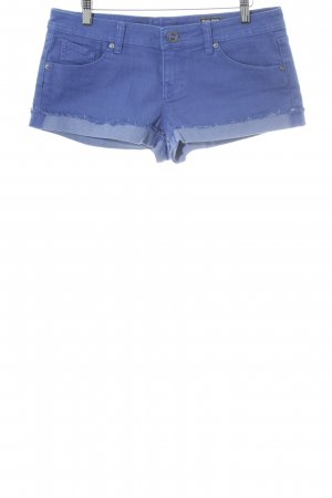 Volcom Hot Pants stahlblau Casual-Look