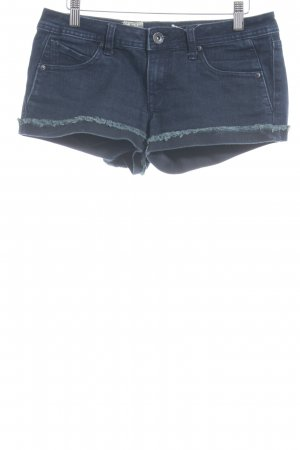 Volcom Jeansshorts blau Casual-Look