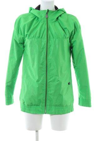 Volcom Raincoat green casual look