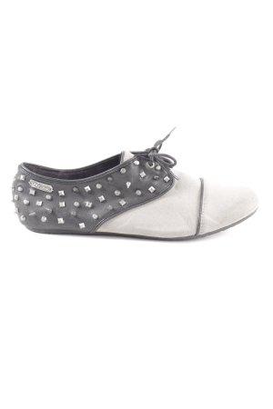 Volcom Richelieus Shoes light grey-black casual look