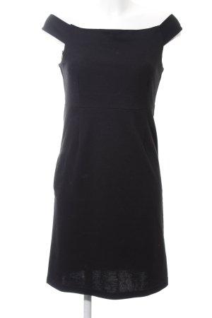 Volcom schulterfreies Kleid schwarz Business-Look