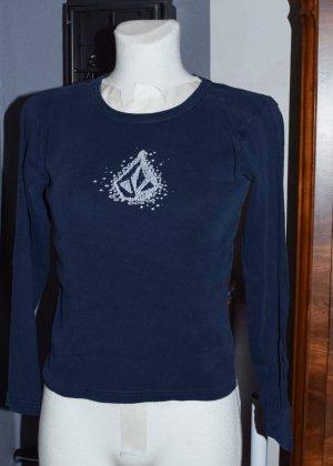 Volcom Shirt, Longsleeve, Raglanärmel, dunkelblau