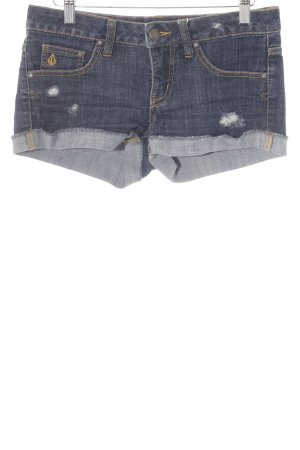 Volcom Shorts blau Casual-Look