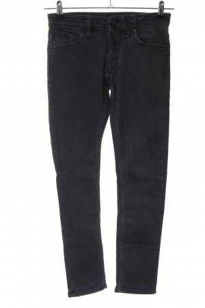 Volcom Slim Jeans schwarz Business-Look