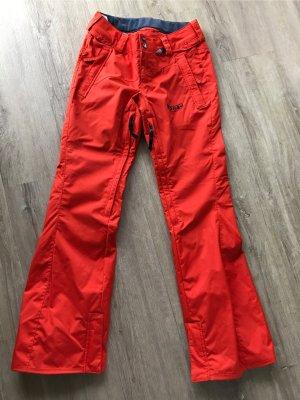 Volcom Pantalone da neve arancio neon