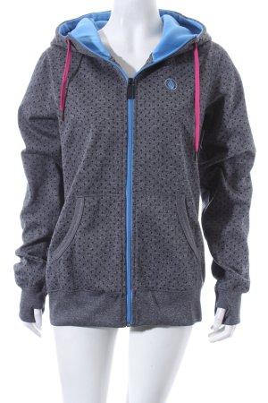 Volcom Veste sweat gris motif de tache style athlétique