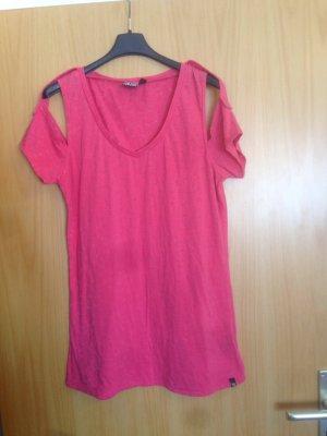 Volcom T-Shirt Dunkelrosa