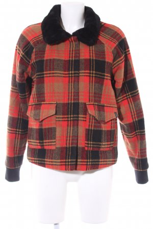 Volcom Wool Jacket check pattern casual look