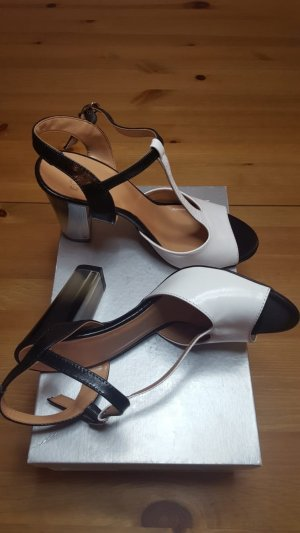 Vollleder High Heels
