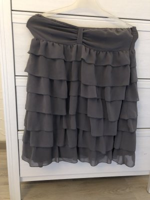 Zara Babydoll Dress grey