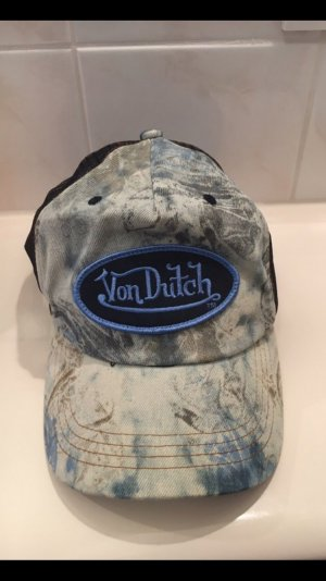 von Dutch Hat grey-blue
