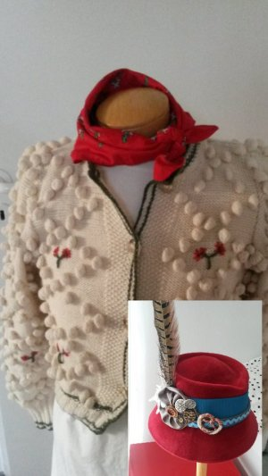 Traditional Jacket multicolored mixture fibre