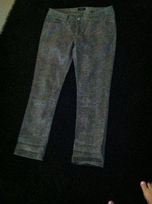 Von Tchibo, Jeans mit Schlangenmuster, Gr. 46. Nie getragen