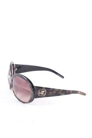 """von zipper runde Sonnenbrille """"Frenzy"""" dunkelbraun"""