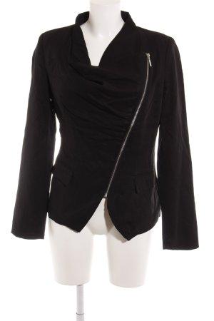 Votre Mode Kurz-Blazer schwarz Elegant