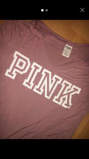 Pink Victoria's Secret Camiseta estampada multicolor