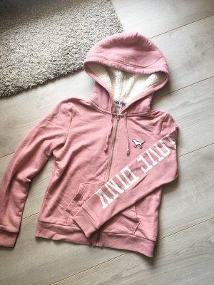 VS Pink Sweatshirtjacke