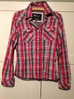 VSCT Bluse rot kariert - Größe M