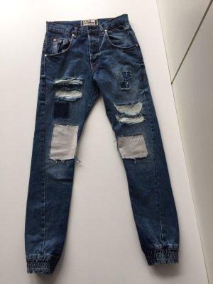 VSCT Clubwear Boyfriend Jeans Street Style Gr. 38 Denimblau