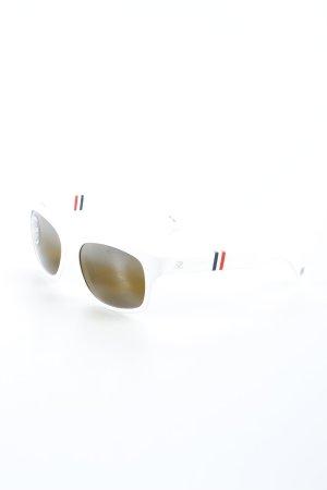 Vuarnet Sonnenbrille weiß Street-Fashion-Look